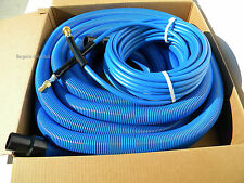 Carpet Cleaning  50' Vacuum and Solution Hoses W/ QD