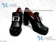 Black Ciel Phantomhive cosplay shoes custom-made Butler