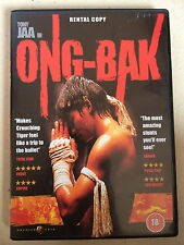 Tony Jaa Ong Bak ~2003 TAILANDESE arti marziali film classico UK DVD