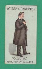 HUMOUR  -  WILLS  -  SCARCE VANITY FAIR SERIES CARD - 2ND SERIES NO. 7  -  1902