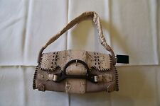 Borbonese 100% Authentic Snakeskin 'African Mambo' Shoulder Bag PowderPink