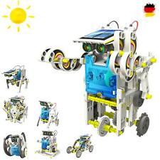 13 in 1 Roboter Konstruktions-Bauset mit Solar, Droide, Baukasten-Set, Baustein