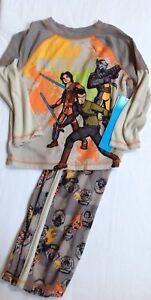NWT Disney Store Star Wars rebel cartoon loose fit long sleeve pjs pal pajamas 4
