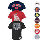 NCAA Assortment of Team Graphic T-Shirt Collection by MAJESTIC & ADIDAS Men's