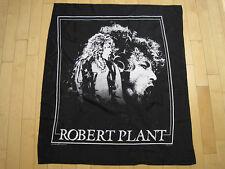 NOS 1990 vtg ROBERT PLANT banner FLAG tapestry POSTER music LED ZEPPELIN art 90s