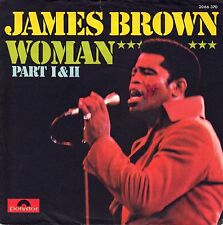 """7"""" James Brown - Woman (Part1 & 2) // Germany 1973"""