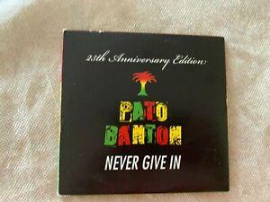 Pato Banton :Never Give IN Reggae 2 CD Set