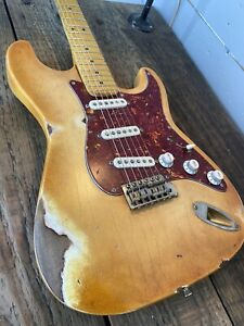 Custom Relic Stratocaster / Partscaster, 1 Piece Body, High Spec Pup & Pots