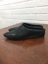 Kelsi Dagger Women's Leather Mule Slide 8.5 black Flats