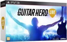 Guitar Hero Live avec contrôleur 2 Innovative gameplay modes comprenant un disque de jeu PS3