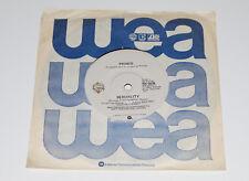 "Prince - Sexuality 1981 Australia NM 7"" 45 Single Rare Oz Vinyl Record WB-0636"