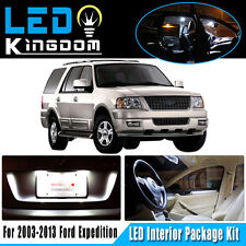 17X For 2003-2013 Ford Expedition White LED Dome Interior Light Bulb Package Kit