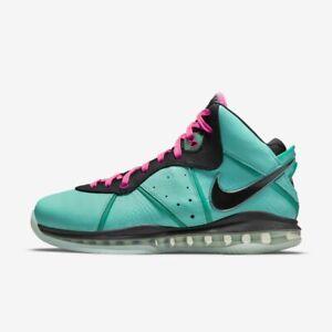 Nike Lebron 8 South Beach 2021 7 - 15 SIZE RANGE 2021