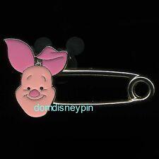 Disney Pin HKDL - *Safety Pin Set* - Winnie the Pooh & Piglet - (Piglet ONLY)!