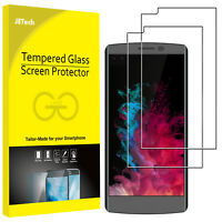 JETech Screen Protector for LG V10 G4 G3 Tempered Glass Film HD Clear 2-Pack