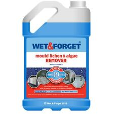 5L WET AND FORGET MOULD, ALGAE AND LICHEN REMOVAL - FREE P&P
