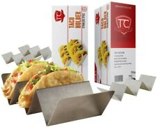 Taco Holder stand -Set of 4 Stainless Steel