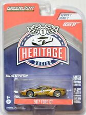 GREENLIGHT HERITAGE RACING SERIES 1 2017 FORD GT #5 GOLD
