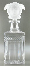 "Whiskykaraffe - Bleikristall ca. 0,6L Inhalt mit Stopfer Motiv ""Januskopf"" AE545"