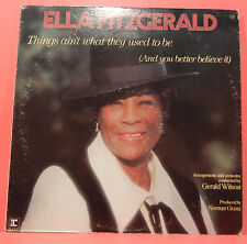 ELLA FITZGERALD THINGS AIN'T WHAT THEY USED TO BE LP 1970 NICE COND! VG/VG+!!