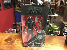 """2016 Star Wars Black Series 6"""" Figure MOC Rogue One #25 DEATH TROOPER Authentic"""