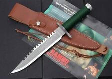 RAMBO 1 FIRST SIGNED BLOOD Licensed CAMPING OUTDOOR KNIVES HUTING KNIFE 17FK368