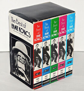 The Best of Ernie Kovacs Collectors Edition (VHS, 1991, 5-Tape Set) NEW SEALED