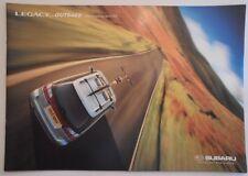 SUBARU LEGACY & OUTBACK ESTATES orig 1999 UK Mkt Accessories Sales Brochure