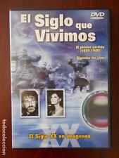 DVD EL SIGLO QUE VIVIMOS - EL PARAISO PERDIDO (1939-1945) -GIGANTES DEL CINE (2S