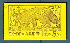 SWEDEN - SVEZIA - Libretto - 1973 - Protezione degli animali. Fauna