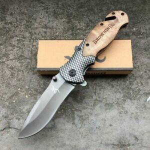 Browning X50 Folding Opening Pocket Knife Hunting, Camping, Fishing AU Stock