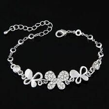 Crystal Chain/Link Adjustable Costume Bracelets
