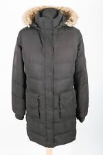 TOMMY HILFIGER Down Fill Hooded Parka Jacket | Womens L | Coat Puffer Puffa