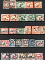 1938 KUT Sg 131/150a Definitive Set of 33 Values Good to Fine Used