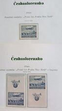 Tschechoslowakei, Jahr 1946, Michel Nr.492, 2x mit Zierfeld, postfrisch