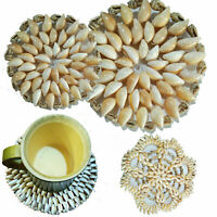 New Vintage Hand Made Natural Sea Shell Mat Place Table Decor Made In Sri Lanka