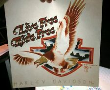 Vintage 1987 Harley Davidson Motorcycle Holoubek Eagle Iron on t-shirt transfer6