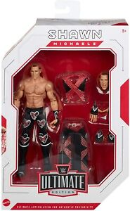 NEW WWE Elite Ultimate Edition Shawn Michaels with Accessories SEALED