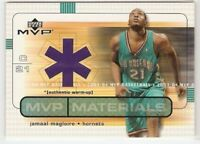 JAMAAL MAGLOIRE JERSEY 2003-04 UPPER DECK MVP MATERIALS CHARLOTTE NO HORNETS