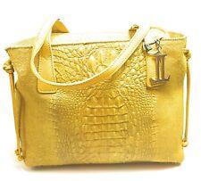 Designer Damen Tasche LUCA LORENZO Henkeltasche Handtasche Echtleder Women Bag