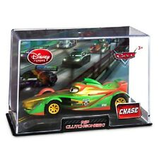 MIB Disney Pixar Cars 2 CHASE Rip Clutchgoneski Diecast with Collector's Case