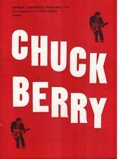 CHUCK BERRY (1964 UK TOUR PROGRAMME)