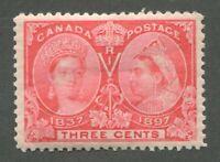 CANADA #53 MINT JUBILEE VF