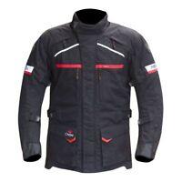 Merlin Titan Outlast Winter Motorcycle Waterproof Textile Jacket Black Commuter