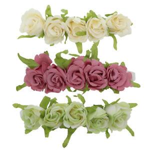 Baby Headband w/Rose Flowers Flower Classic Stylish Toddler Wedding Head Band
