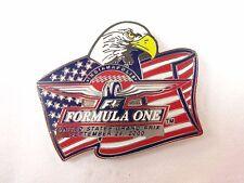 2000 Formula-1 Indianapolis United States Grand Prix flag Eagle Event Lapel Pin