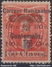 GUATEMALA N° 31 NEUF * AVEC CHARNIERE A VOIR