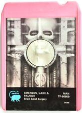 VINTAGE 1973 EMERSON LAKE & PALMER - BRAIN SALAD SUGERY 8 TRACK TAPE CARTRIDGE