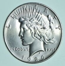 Better 1926-D Peace Silver Dollar - $1.00 Face - 90% Silver Bullion *522