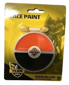 Wests Tigers NRL Face Paint * Team Colour Paint